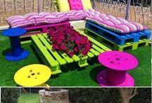 Paletlerle-Ev ve Bahçe Tasarımları
