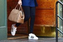 Proof White Sneakers Go With Everything / by ShopStyleAU by POPSUGAR