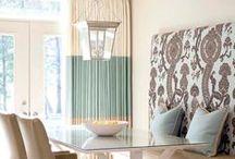 Window Decor We Love / Window treatment inspiration! #windowdecor