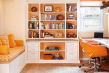 Office Inspiration / Unique and beautiful office design ideas. #officedecor