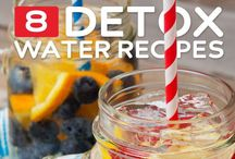 Detoxify and Cleanse / Cleansing foods and beverages to help remove toxins and heavy metals from your body and cleanse your liver