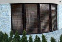Wooden shutters / Self made wooden shutters