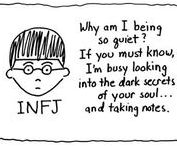 INFJ / Infj goes with fringe they say. If I ever need to explain my personality to someone:
