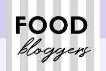 FOOD BLOGGERS | Inspiration & Favorites