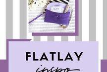 FLATLAY INSPO | Ideas for flatlay photos
