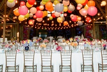 Amazing Wedding Receptions / Okay, my domain is the wedding ceremony, however I get plenty of invites from my couples so I do get to see lots of receptions. Better still, I see the reception venues before anyone arrives. Ideas for your reception are only limited by your imagination. Pinterest is the best!