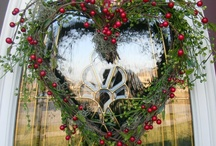 Wreaths & Door Decor / by Pamela Mead