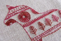 Redwork & Embroidery / by Pamela Mead
