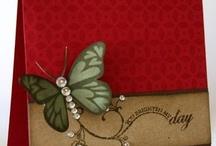 Cards...Birds & Butterflies