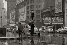 IN THE RAIN / Um dia de chuva é tão belo quanto um dia de sol. Ambos existem cada um como é.  ( Fernando Pessoa)