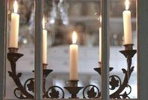 By Candlelight & Lantern Glow...
