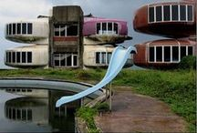 Unusual Building and Structures / Real, planned and futuristic. / by Andrew Trute