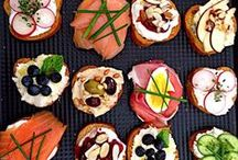 Appetizers - Hors d'Oeuvres / Fun foods for whetting the appetite or as finger food instead of a full meal.  #appetizers #horsdeuvres #fingerfood #hors #doeuvres #canapés #dips #snacks #parties #buffet  Follow me to contribute on my boards.