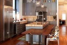 Our Wood, Your Kitchen. / Check out a variety of kitchens with the use of wood veneer integrated into the design.