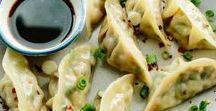Dim Sum - Potstickers - Dumplings - Asian / Here's a place to learn how to make Asian-inspired traditional and not-so-traditional dim sum, pot stickers dumplings and steamed buns and to seek new inspiration!  #dimsum #dim #sum #potstickers #pork #buns #porkbuns #gyoza #wonton #dumplings
