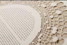Rings Papercut Ketubah / Wedding Vows / Ruth Mergi, Papercut Ketuba, Ketubah, Wedding Vows, Marriage Certificate, Quaker certificate, Contemporary, Modern, Traditional, Interfaith, Israel, Art, Artist, Judaica, Jewish Wedding, Chic, signatures, English, French, Italian, Spanish, Mazel Tov, Chuppah, Mitzvah, Wedding inspiration, Ketubah text, Sculptural