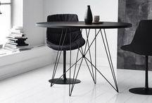 Mooi Goed // Interior / Black and white interiors