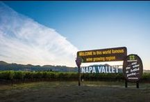 Dreaming of Napa Valley / People travel from all over the world to visit Napa Valley, so it should come as no surprise that there is a bounty of activities at your disposal. Whether it's wine tasting, golfing, fine dining, or outdoor activities, there are a multitude of ways to take advantage of this exciting region.
