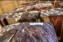 Browse Our Lumber / Originally, our imported selections were offered to complement the purchases from our veneer customers. It was only a matter of time before a broader array of customers wanted access to our lumber to create matching visual harmony with their projects. In response, we established a distinct lumber business where you can get the select pieces of lumber you need. We carry square edge lumber and boules.