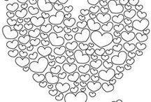 Mooi Goed // chique valentine / Valentine in black and white