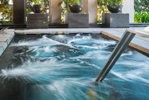 Pools from condos & apartments in Bangkok / Pools from various condos and apartments in Bangkok, Thailand.