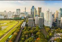 Bangkok best views / Images from various properties in Bangkok that show you the amazing views of Bangkok, Thailand