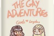 Fucking Hobbitverse / Tolkien trash, lots of gay ships and fanart, very memeulous