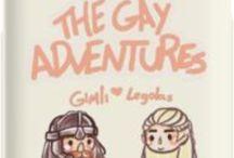 Fucking Hobbitverse / Tolkien trash, lots of gay ships and fanart, very memeulous
