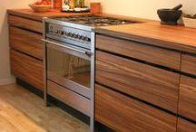 Modern kitchen design by cabinetmaker Kjeldtoft