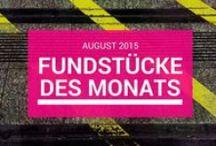 Lieblingsfundstücke / Alle Links zu meinen Lieblingsfundstücken des Monats. mehr Informationen unter http://soschyontour.de/tag/fundstuecke-des-monats.
