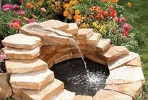 Fountains / Fountains for gardens, back yards or curb appeal
