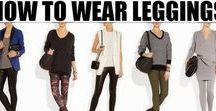 How to Wear Leggings & Leggings Outfit / How to wear leggings and leggings outfit