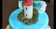 Phare / Lighthouse cake / Gâteau Phare / Lighthouse cake