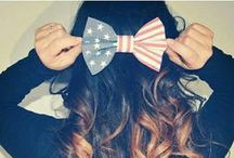 Bows / It's always pretty when you put a bow on top...