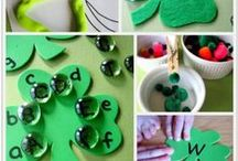 St Patricks Day Theme Unit / A week long unit study done during the 2013-2014 school year.