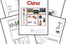 China Theme Unit / A week long unit study done during the 2013-2014 school year.