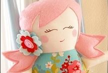 Rag Dolls / Homemade dolls for big and little children