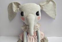 Cuddle toys / Handmade soft toys