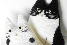 Kitty Cats / Fabric cats to make