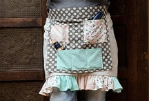 Aprons to make / wonderful examples of home sewn apons