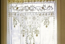crafts with a vintage look / Making things with/from lace, burlap or linen