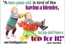 Twin Quotes, Cartoons & Sayings / Here is where you go to smile, chuckle or even laugh out loud with all the funny and cute 'twin-related' cartoons and sayings plus other good ones all parents can relate to!