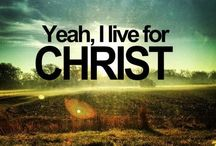I am a Christian! / Through Christ you can do anything.
