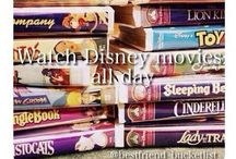 Movies I love... / Give me a warm cozy blanket, a bucket of popcorn and a good movie to watch....