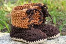 Baby booties 6 - Lace up boots