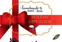 """2014 """"Handmade with Love"""" Holiday Gift Guide / Created and Curated by Stage Presents - Gift Guide Participants and Sponsors"""