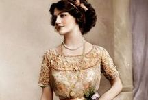 vintage + antique ladies / Beautiful women in history. / by Sparrow Salvage