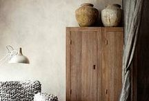Rustic Home Decor / From country cottage to minimalist loft, the essence of rustic is down to raw textures, natural materials and casual forms. It's a little bit homemade and a little bit cobbled together. / by Sparrow Salvage