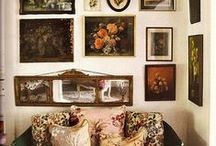 Art Gallery Decor / Great art collections, picture frame arrangements, frameable vintage book pages and creative approaches to the art of displaying art!  / by Sparrow Salvage