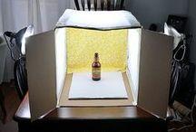 ••• Craftroom ••• Light boxes ••• / pracownia, przydatne pomysły